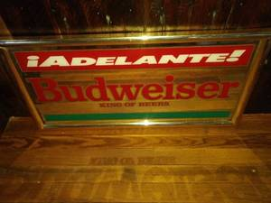 Budweiser king of beers mirror