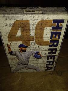 royals Kelvin Herrera bobblehead number 40 world series 2015 new in box