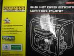 Cummins gas powered water pump.