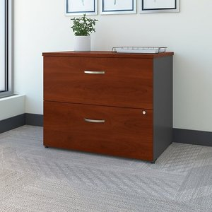 Bush Business Furniture Series C: 2-Drawer Lateral File Assembled