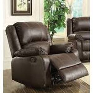 Leather Powered Massage Recliner Chair