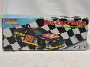 1994 Texaco/Havoline Ford Thunderbird Collectors Edition Die-Cast Car Bank - In Box