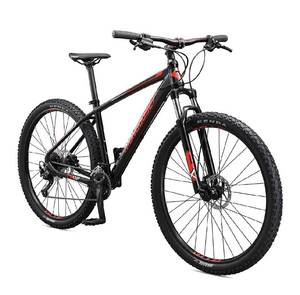 "Mongoose 29"" Tyax Sport Adult Mountain Bike - Tectonic T2 Aluminum Frame, Rigid Hardtail, Hydraulic Disc Brakes"