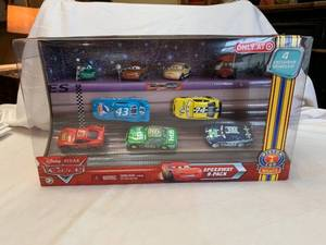 Disney Pixar Cars: miniature racer cars, Speedway nine pack