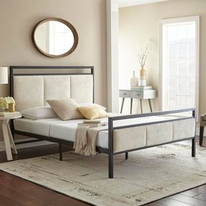 Sleep Sync Sheldon Queen Platform Bed - Retails for over $700!