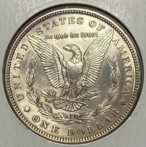 1885 $1 Morgan Silver Dollar