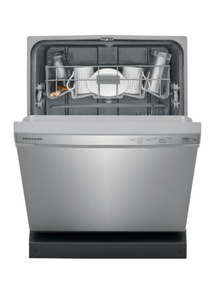 Frigidaire 24 in. Stainless Steel Front Control Built-In Tall Tub Dishwasher, 55 dBA