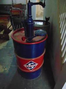 Skelly 55 Gallon Drum with Pump