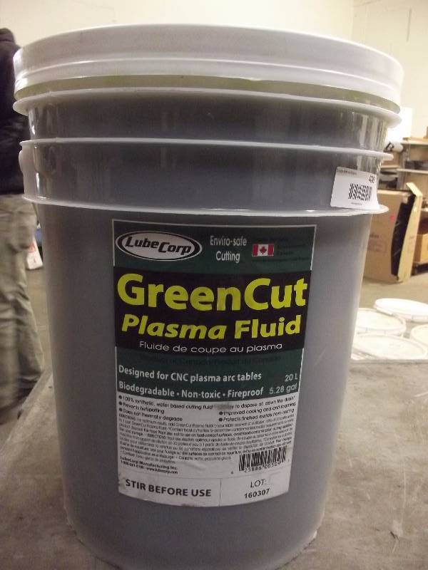 Greencut Plasma Fluid Als April Sale Equip Bid