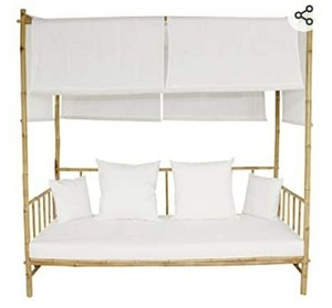 Bamboo Daybed w/ Canopy