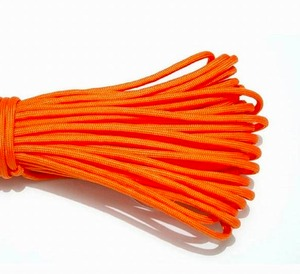 Elite First Aid Inc #550 Military Style Cord 100 ft. Orange (5 Pack)