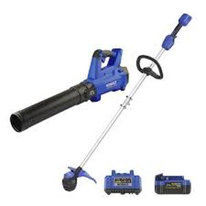 Kobalt 2-Piece 24-Volt Max Cordless Power Equipment Combo Kit with battery and charger
