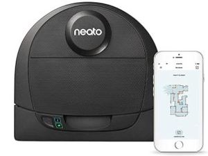 Neato Robotics D4 Laser Guided Smart Robot Vacuum-Wifi Connected, Works with Alexa- Retail:$429.99