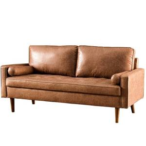 "Garzon 69.68"" Wide Square Arm Loveseat"