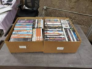 Lot of DVD Movies Appear New
