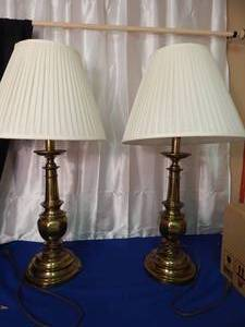 Stiffel Lamps with Shades