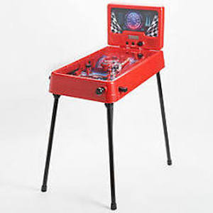 Arcade Alley Electronic Raceway Free Standing Pinball