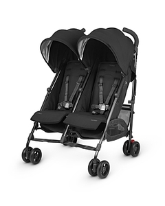 Uppababy G-Link 2 Double Stroller - Black