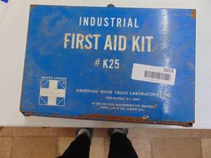 Vintage First Aid Kit with Contents