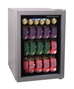 Frigidaire Professional Frigidaire, 2.6 Cu Ft Stainless Steel Beverage Centre - 60 Cans Stainless Steel