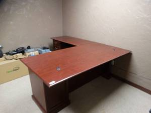 Very Large L-Shaped Desk