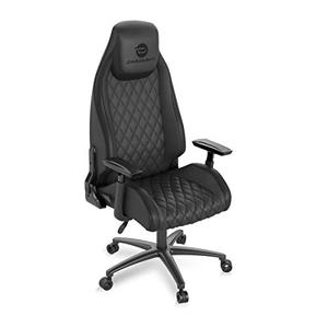 Atlantic Dardashti Gaming Chair - Commercial Grade, BIFMA X5.1 Tested, Next-Gen Ergonomic, Race Car Inspired Black with Black Accent, PN78050356 - Retails for over $400!