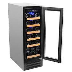 Smith & Hanks 19 Bottle Single Zone Wine Cooler