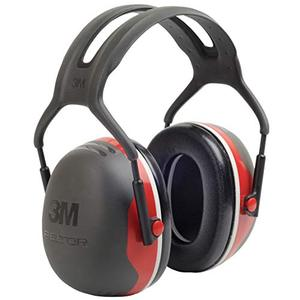 3M Peltor X3A Over-the-Head Ear Muffs, Noise Protection, NRR 28 dB