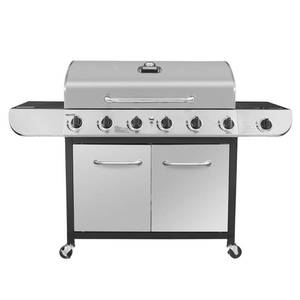 Classic 6-Burner LP Stainless Steel Gas Grill Model SG6002 - Royal Gourmet