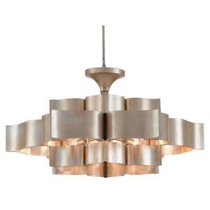 GRAND LOTUS 6 LIGHT 30 INCH LARGE CHANDELIER