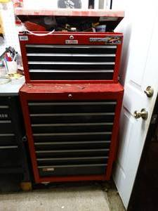 Craftsman Tool box - top and bottom