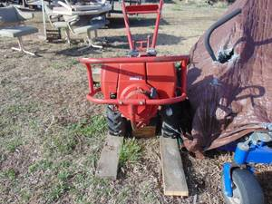 Troy Bilt 8 HP Tiller - Starts with Rope - Starter Not Installed - Needs Wiring Harness - Battery