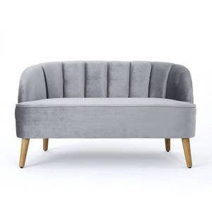 Amaia Modern Velvet Loveseat Sofa by Christopher Knight Home- Retail:$356.49
