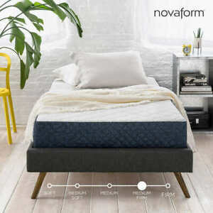 8in Gel foam mattress twin