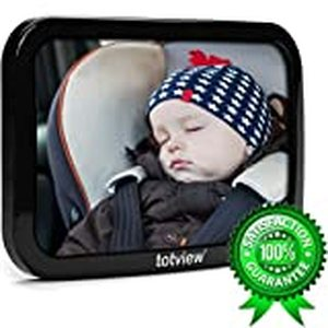 Totview Baby Car Mirror - For Rear Facing Car Seats - Large,