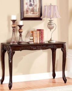 Furniture of America Nist Traditional Cherry Solid Wood Sofa Table- Retail:$175.99