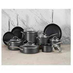 Member's Mark 15pcha 15-piece Hard Anodized Aluminum Cookware Set