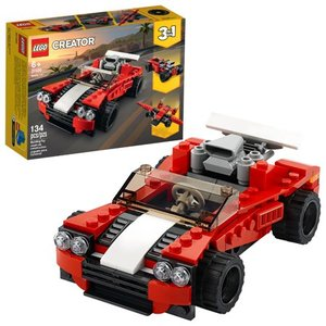 LEGO Creator 3-in-1 Sports Car Building Kit 31100