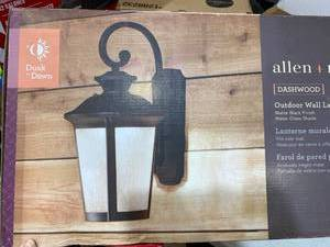Allen+roth Dashwood Outdoor Wall Lantern
