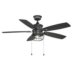 Home Decorators Collection Aldenshire 52 in. LED Indoor/Outdoor Natural Iron Ceiling Fan with Light Kit