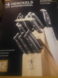 New cutlery set by the Henckel  knife company