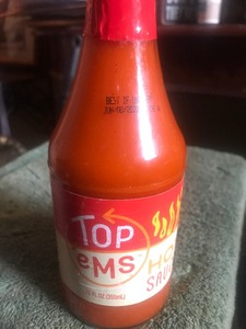 12 bottles of hot sauce very tasty I've tried it great on wings has great best used eight