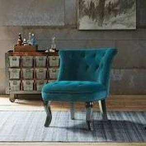jane accent chair 1only teal blue