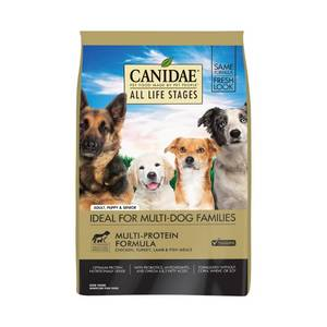Canidae Dry Dog Food for All Life Stages, Chicken, Turkey, Lamb and Fish, 44-Pound
