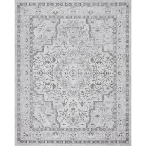 Tayse Rugs Nexus Gray 7 ft. 10 in. x 10 ft. 2 in. Indoor Area Rug