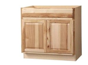 36x34.5x24 in. Hampton Accessible Sink Base Cabinet in Natural Hickory unfinished.Retail Price $254