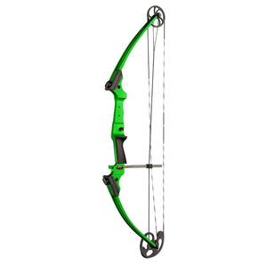 Genesis Archery Original Green Compound Target Practice Bow Kit, Left Handed {Retail $269.99}