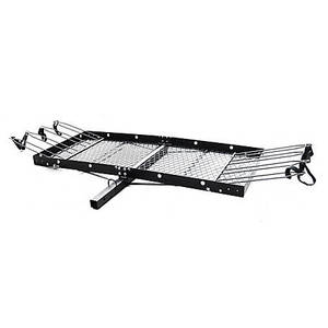 Tow Tuff TTF-2762ACBR Heavy Duty 2-in-1 Aluminum Cargo Carrier with Bike Rack {Retail $274.99}