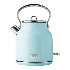 Haden Heritage 1.7 Liter Stainless Steel Body Retro Electric Kettle, Turquoise {Retail $89.99}
