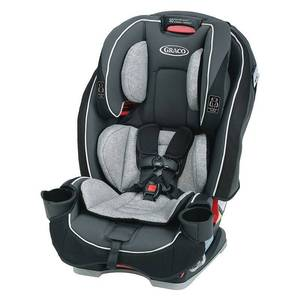 Graco SlimFit All-in-One Convertible Car Seat, Darcie Gray